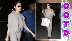 Anushka Sharma has a perfect alternative tracksuit to carry at the airport