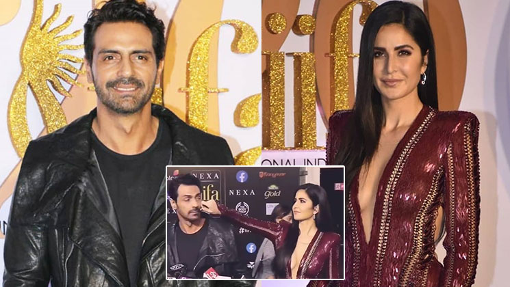 When Katrina pulled Arjun's cheeks in the middle of a media interaction | Bollywood Bubble