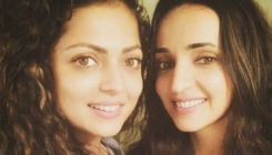 Drashti Dhami tries to scare BFF Sanaya Irani-watch hilarious video