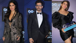 GQ Men Of The Year Awards 2019: Katrina Kaif, Hrithik Roshan and Sara Ali Khan dazzle on the red carpet