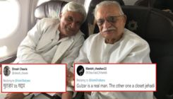 Trolls rip apart Javed Akhtar by calling him 'Pakistani' and 'jihadi' after Shabana Azmi shares his pic with Gulzar