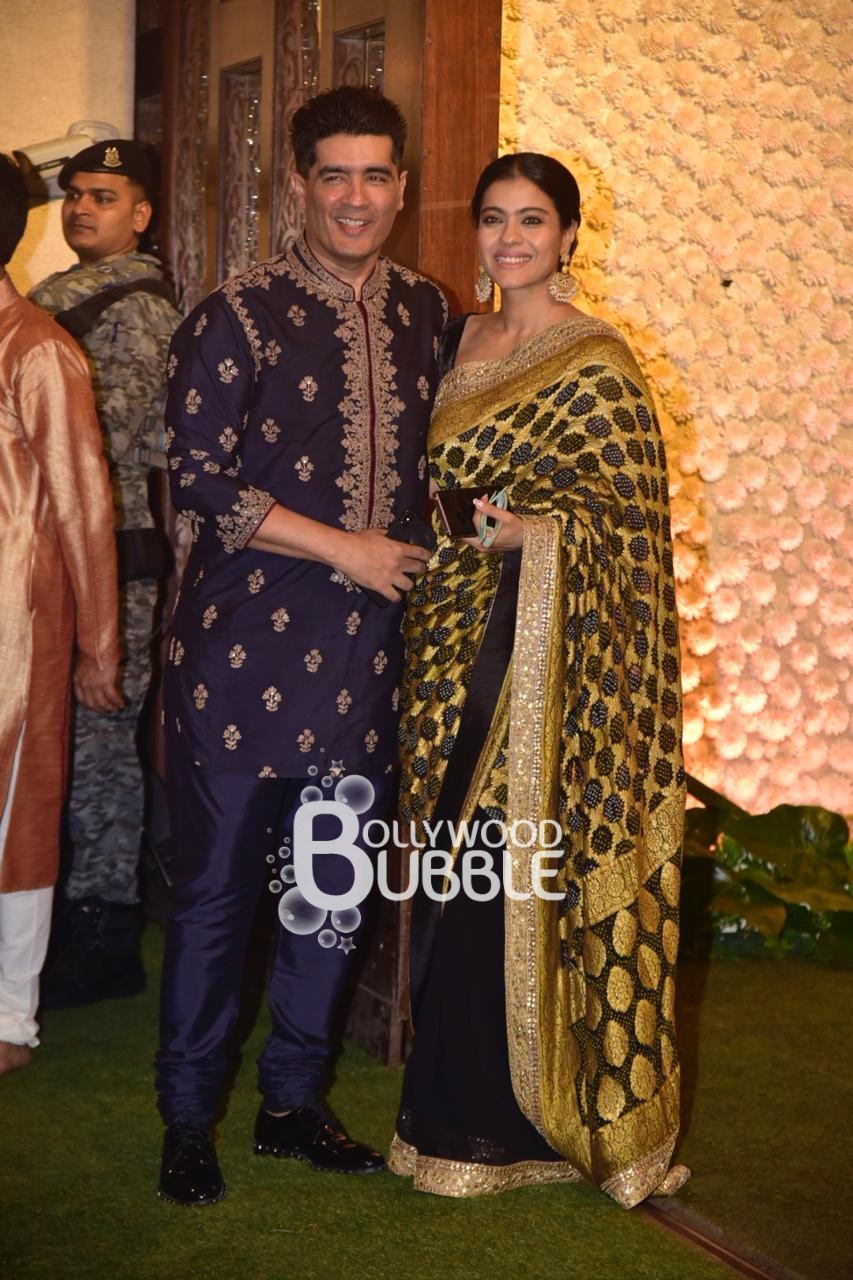 Kajol and Manish Malhotra
