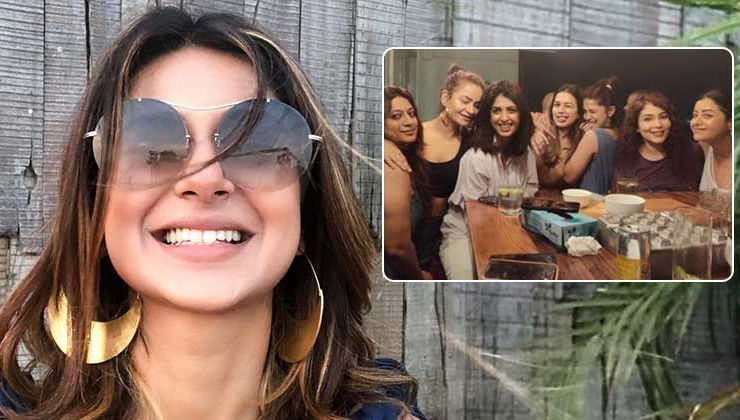Jennifer Winget parties hard with her 'Girls' before the shoot of 'Beyhadh 2'-view pics