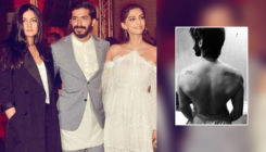 Harsh Varrdhan flaunts his bare back that has tattoos of his sisters Sonam and Rhea Kapoor