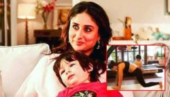 Taimur adorably watches mommy Kareena Kapoor as she strikes yoga poses-watch video