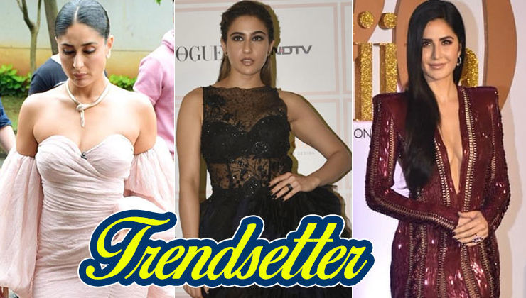 Kareena Kapoor, Sara Ali Khan and Katrina Kaif make thigh-high slit gowns a forever trend