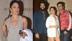 Kiara Advani and Vijay Deverakonda are all smiles as they pose with Karan Johar - view pics