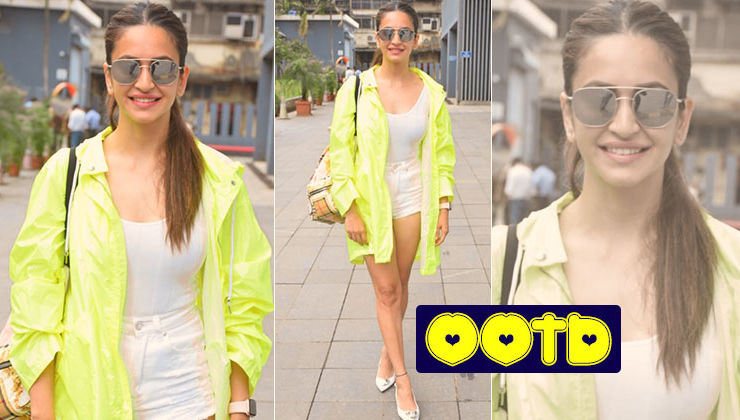 Kriti Kharbanda schools you how to stun in street fashion with neon jackets