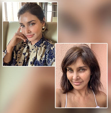 lisa ray no makeup selfie unfiltered
