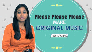 Shilpa Rao gegs music composers to make more original music