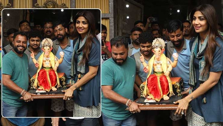 Ganesh Chaturthi 2019: Shilpa Shetty is all smiles as she gears up to welcome Lord Ganesha