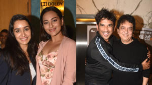 'Chhichhore': Shraddha Kapoor, Sushant Singh Rajput, Nitesh Tiwari are all smiles at the special screening