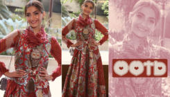 Sonam Kapoor looks ravishing in a print-on-print anarkali dress