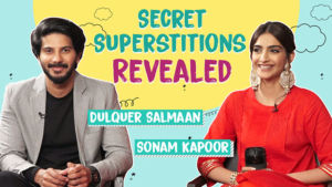 Sonam Kapoor and Dulquer Salmaan reveal their secret Superstitions