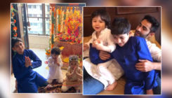 Taimur Ali Khan singing 'Ganpati Bappa Morya' is the cutest video that you will see today