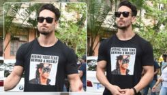 'War': Tiger Shroff throws an open challenge to Hrithik Roshan with his T-shirt caption
