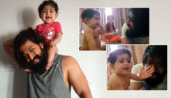 Yash's nine-month-old daughter Ayra waves and says 'hi' in the most adorable way-watch video