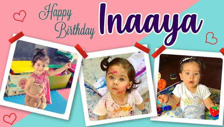 Inaaya Naumi Kemmu Birthday Special: 11 cute pics of the little princess to give you baby fever