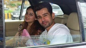 New parents Jay Bhanushali and Mahhi Vij return home with their baby girl - view pics
