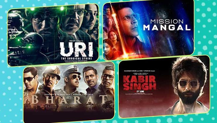 Glory of 2019: 'Uri', 'Mission Mangal', 'Kesari', 'Kabir Singh', 'Bharat' crossed 150 crores at the box-office