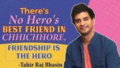 Tahir Raj Bhasin's Heartfelt take on 'Chhichhore', Friendship, Sunil Gavaskar and Ranveer Singh's 83