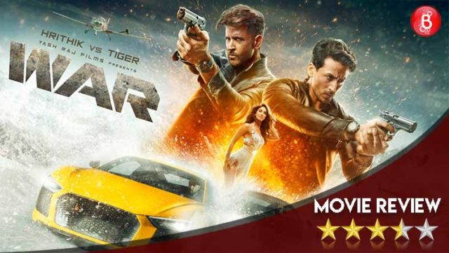 'War' Movie Review: Hrithik Roshan-Tiger Shroff's action extravaganza is 'Mission Impossible', 'Fast & Furious' & 'James Bond' stuffed into one