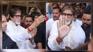 Amitabh Bachchan meets and greets his fans on his 77th birthday - view pics
