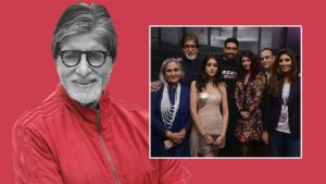 These Insta pics of Amitabh Bachchan prove that he is a true rockstar when it comes to family