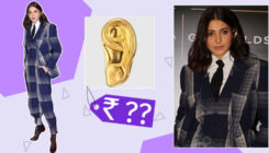 Anushka Sharma's golden ear cuff is easily affordable yet highly fashionable