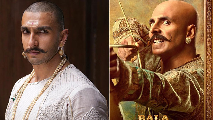 Housefull 4: Akshay Kumar has THIS to say about his bald look being compared to Ranveer Singh's in Bajirao Mastani | Bollywood Bubble