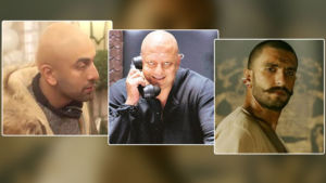 bollywood actors bald look