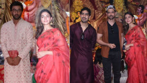 Durga Puja 2019: Ranbir Kapoor, Alia Bhatt and Hrithik Roshan seek blessings on Maha Navami