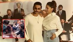Ranveer Singh posts a throwback picture staring at Deepika Padukone's waist; she has the adorable reply ever