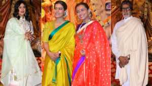 Durga Puja 2019: Amitabh Bachchan,Priyanka Chopra, Rani Mukerji, Kajol and others offer prayers on Maha Asthami