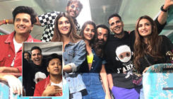 'Housefull 4' train journey: Akshay Kumar, Kriti Sanon, Riteish Deshmukh groove to 'Bala', play Antakshari- video