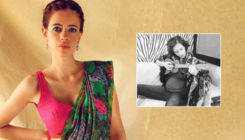 Mom-to-be Kalki Koechlin flaunts her baby bump with panache - view pic