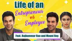 Rajkummar Rao and Mouni Roy's hilarious take on life of an Entrepreneur Vs Employee