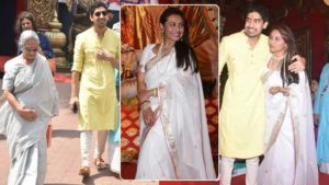 Durga Puja 2019: Rani, Ayan Mukerji, Jaya Bachchan and others seek blessings of the deity
