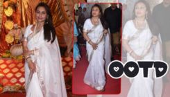 This Navratri take a cue from Rani Mukerji's simple yet elegant look