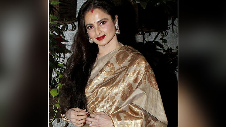 Legendary actress Rekha's beauty secrets REVEALED! | Bollywood Bubble