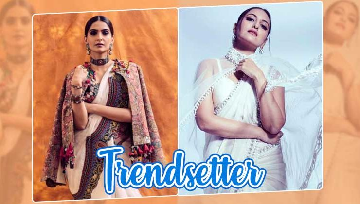 Sonam Kapoor to Sonakshi Sinha - Actresses who brought the cape saree trend back in fad