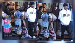 Sushant Singh Rajput goes shopping with rumoured GF Rhea Chakraborty in Italy-view pics