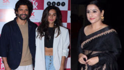 'The Sky Is Pink': Farhan Akhtar, Shibani Dandekar, Vidya Balan attend the special screening
