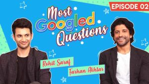 Farhan Akhtar and Rohit Saraf are at their Sarcastic Best