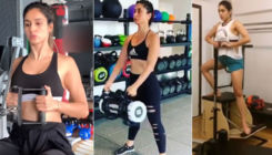 7 Bollywood actresses who are a tough competition to the actors in the gym