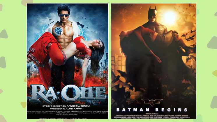 Ra.One and Batman Begins
