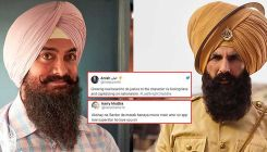Akshay Kumar's 'Kesari' look trolled by Aamir Khan fans after 'Laal Singh Chaddha's first look was released