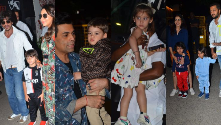 Aaradhya Bachchan's birthday: Shah Rukh Khan, AbRam, Yash, Roohi and others attend the party