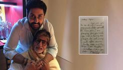 Abhishek Bachchan's childhood letter for papa, Amitabh will make you smile