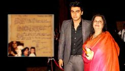 Arjun Kapoor shares an old handwritten letter to his mother; says,